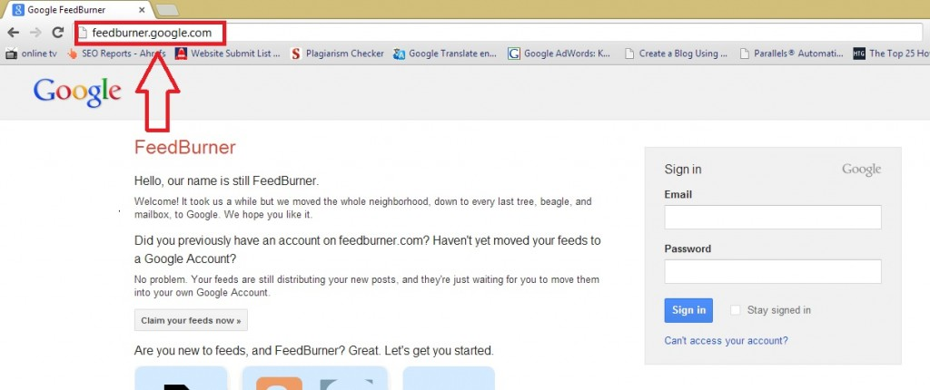 Feedburner url feedburner url How to Find Google FeedBurner URL? 17