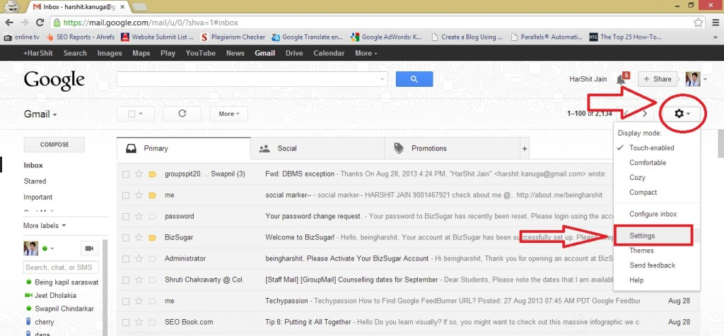 all emails in one place all emails in one place How to get different Gmail account mails in one Account? 26