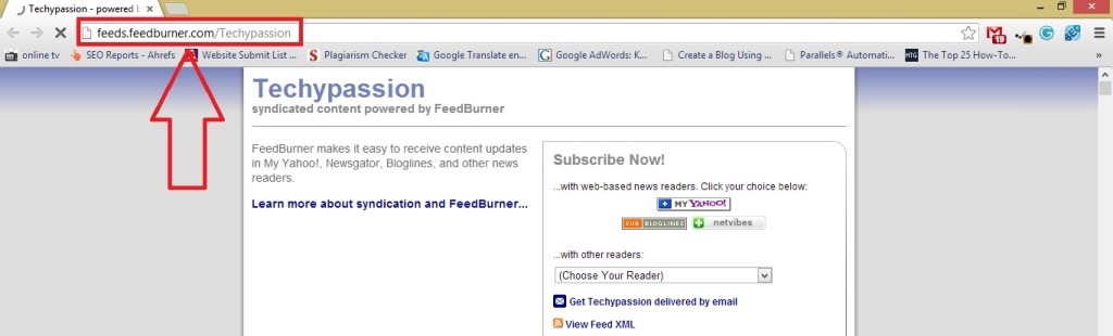 Feedburner url feedburner url How to Find Google FeedBurner URL? 45