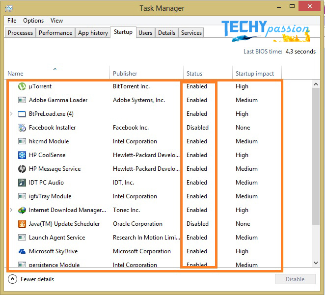 remove startup program remove startup Procedure to Remove StartUp Programs in windows 8? 52