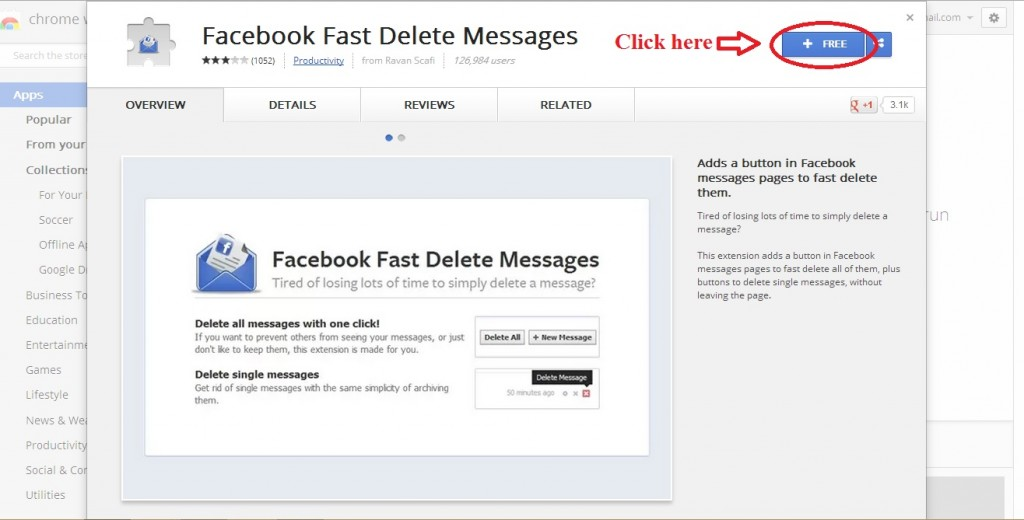 Delete FAcebook chat Delete all Facebook messages How To Delete All Facebook Messages In One Click? 12