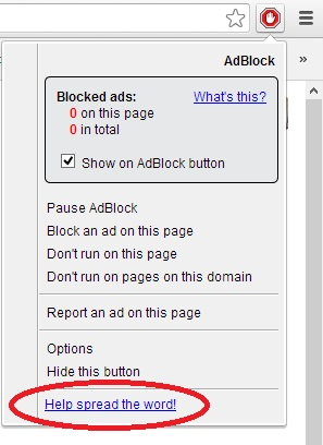 Google Chrome Adblock Google Chrome Adblock How to active Google Chrome Adblock? 4