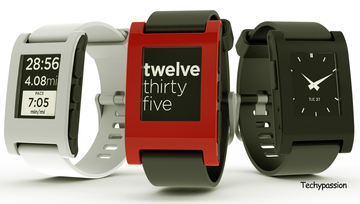 Smartwatch from pebble watch