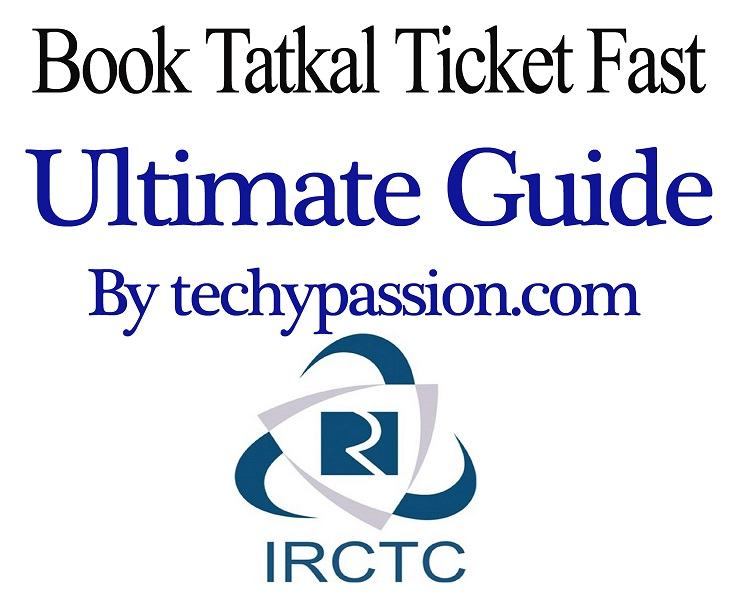 Increse speed of IRCTC tatkal ticket booking Tatkal ticket booking How to increase speed of IRCTC Tatkal Ticket booking? main copy