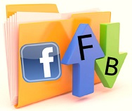 Procedure to send files using facebook messages