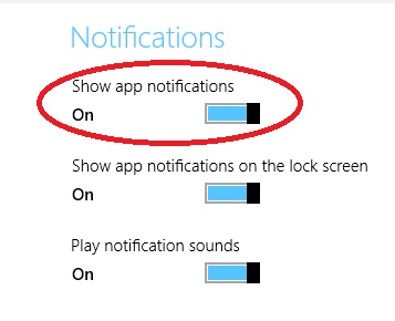 Start and stop windows 8 apps notfication How to start and stop notifications of apps in windows 8 & 8.1? How to start and stop notifications of apps in windows 8 & 8.1? 5