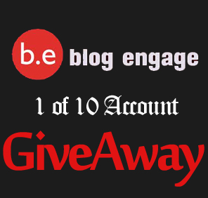 Blogengage Giveaway