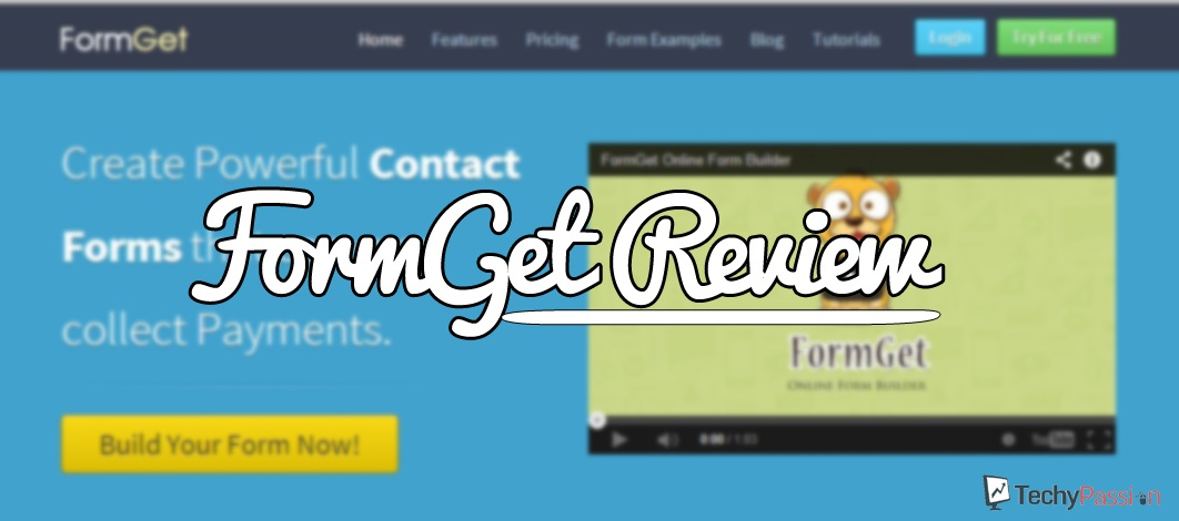 Formget review FormGet Review : Best Online Form Builder FormGet Review : Best Online Form Builder 1 copy