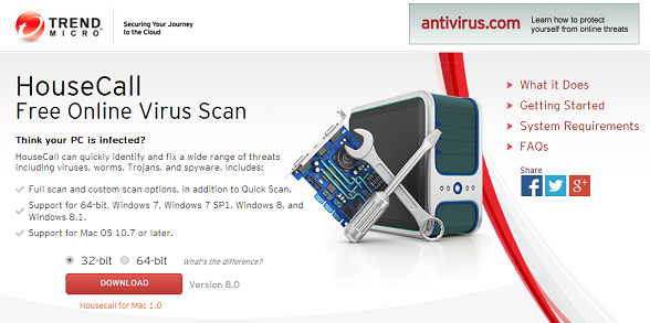 best online virus scanners Online virus scanner Best Online Virus Scanner and Removal Tools [No Download] 42