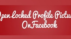 View Private Locked Profile Pictures in Full Size on Facebook