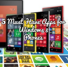 top Windows 8 phone apps