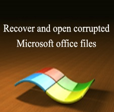 way to recover your corrupted or deleted word file for free
