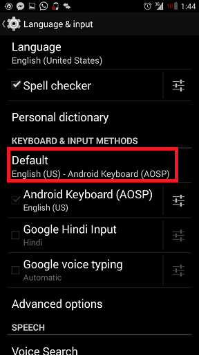 Disable Auto Correction in Android Phone How to Turn Off Auto Correction in Kitkat 4.4? How to Turn Off Auto Correction in Kitkat 4.4? Screenshot 2014 09 07 01 44 11