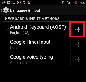Disable Auto Correction in Android Phone How to Turn Off Auto Correction in Kitkat 4.4? How to Turn Off Auto Correction in Kitkat 4.4? Screenshot 2014 09 07 01 44 22