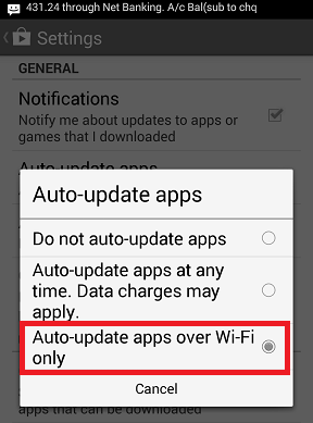 Disable Auto update of application in Android phone How to Disable Auto update of application in Android phone? How to Disable Auto update of application in Android phone? Screenshot 2014 09 07 02 00 26