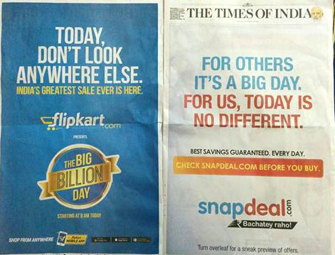 Snapdeal troll A New Era of E-Commerce war in India A New Era of E-Commerce war in India snapdeal troll in TIO