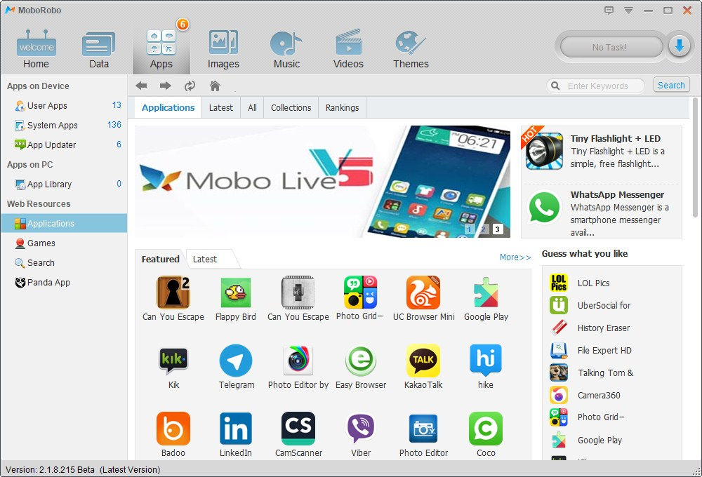 3 MoboRobo review - Free Android and iPhone PC Suite! MoboRobo review - Free Android and iPhone PC Suite! 3