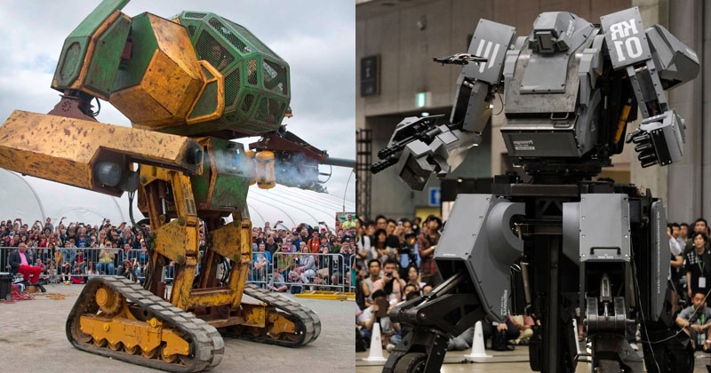 usa vs japan robots