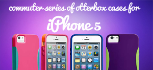 Reflex and commuter series of otterbox cases for iphone 5