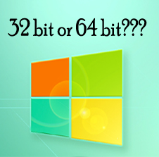 How to check PC is 32 bit or 64 bit
